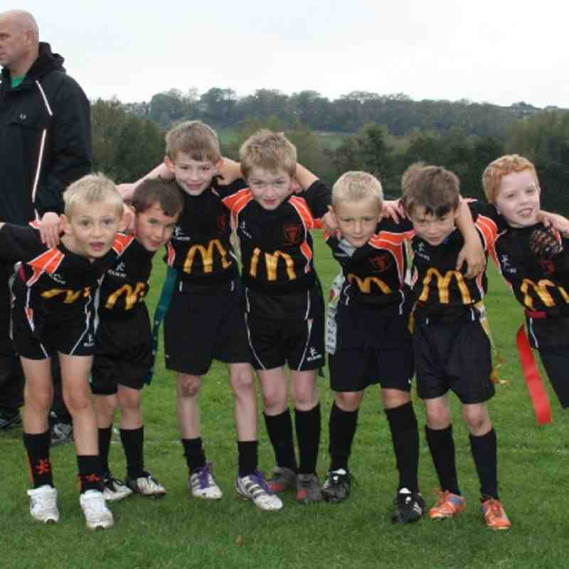 Uttoxeter U8's at Ashbourne 23rd October 2011