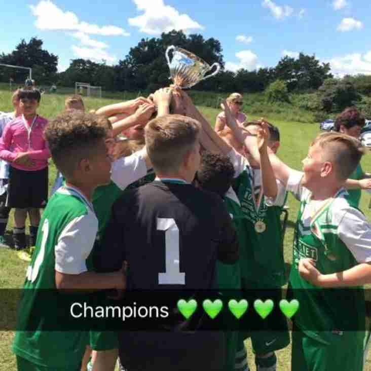 Under 11 juniors storm to take Leamington Tournament crown