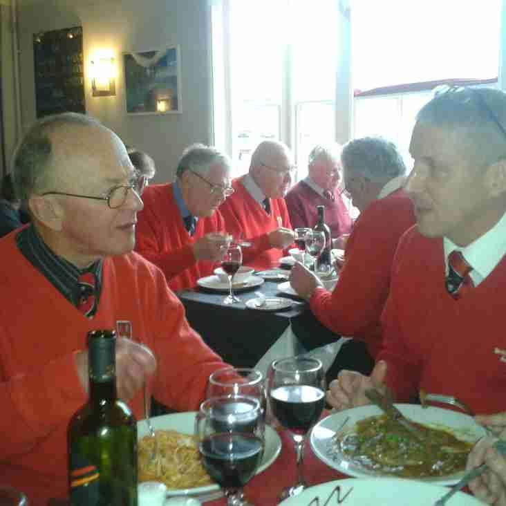Jolly Boys' Outing at Old Rishworthians