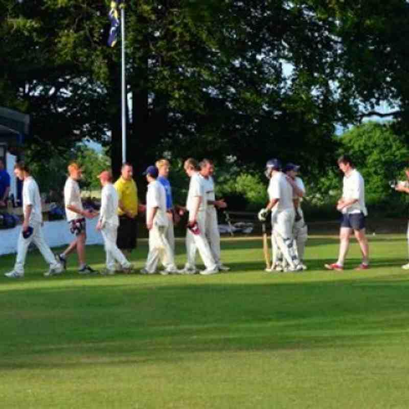 2nd XI v Haddington 20-07-13