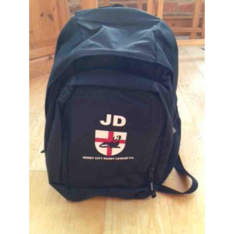 Branded rucksack