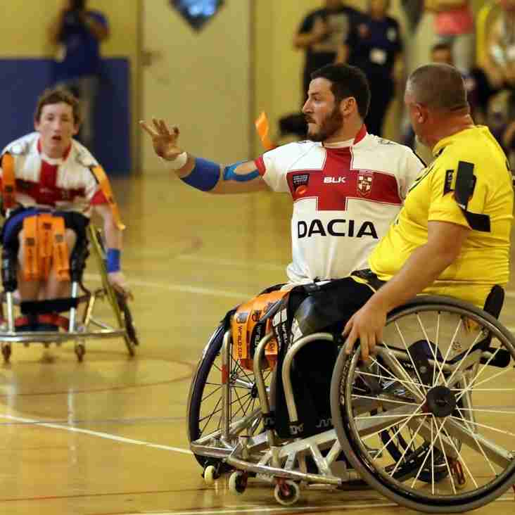 England Reach Wheelchair World Cup Final