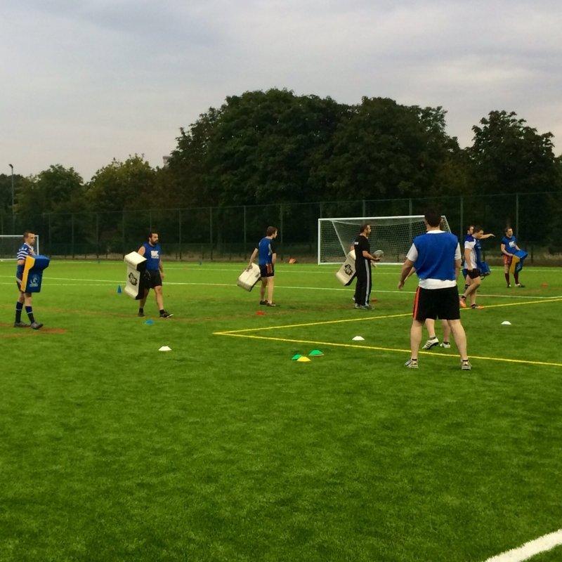 Tuesday training at Haggerston Astro