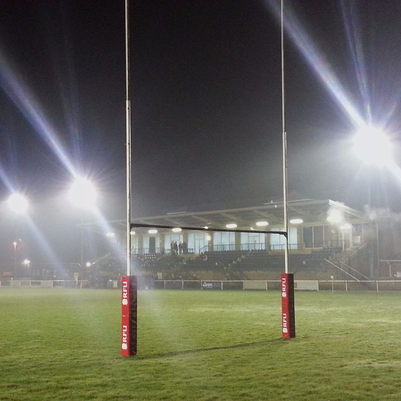 Rugby under the floodlights
