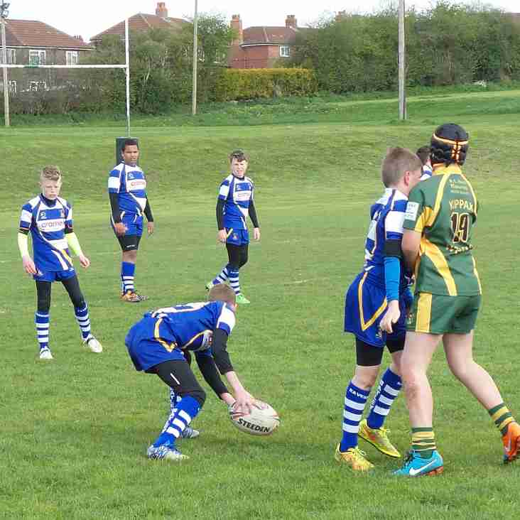 Batley Boys u12's  narrow loss to  Kippax