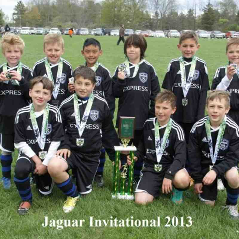 Express FC 04 Black - Finalists Gold Division (Jaguar Invitational May 12, 2013)