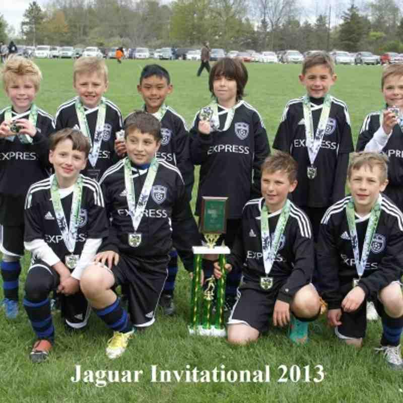 Express FC 04 Black - Finalists Gold Division (Jaguar Invitational May 12, 2013)