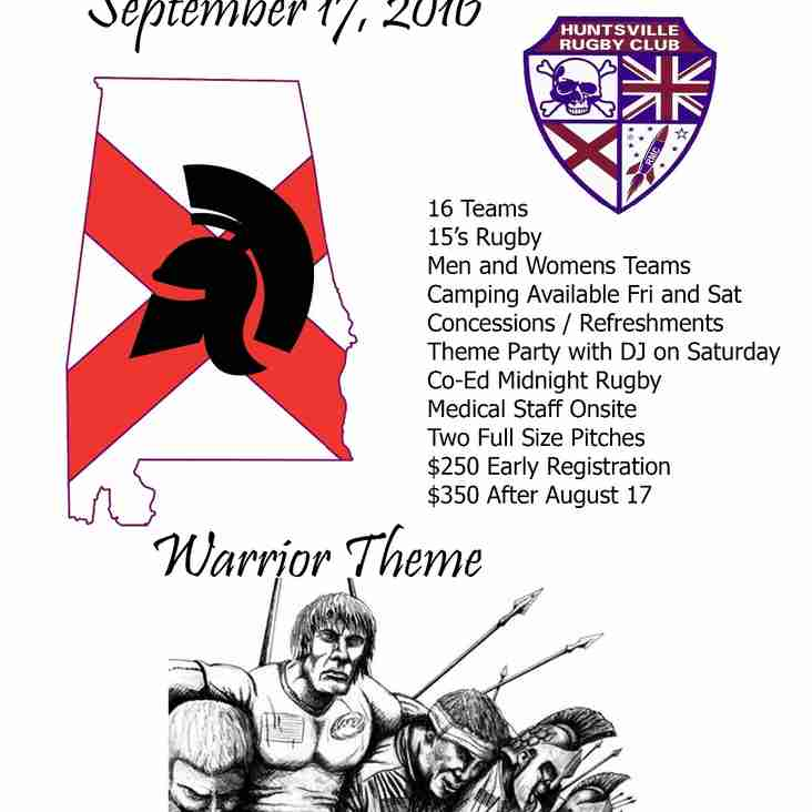 2016 Heart of Dixie Rugby Tournament Registration