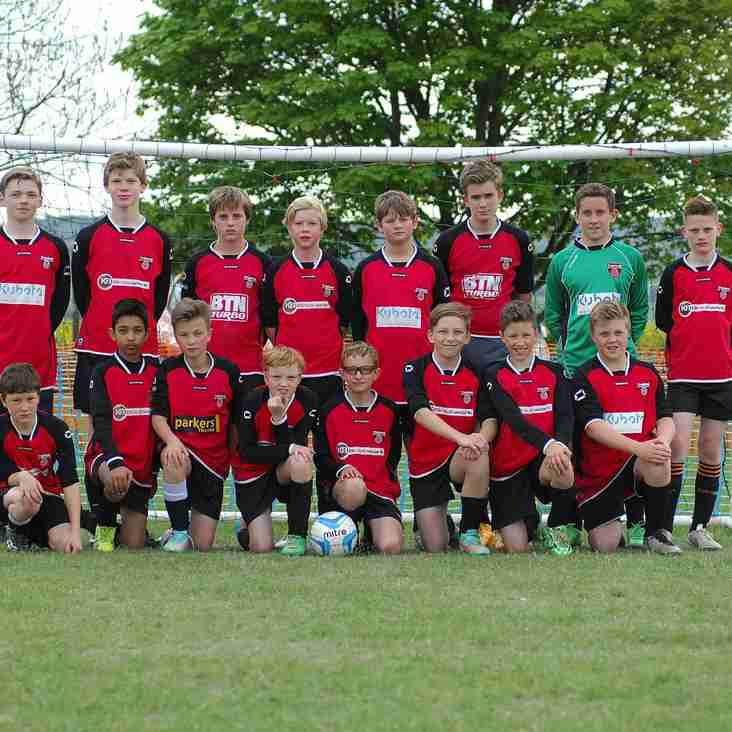 Thame Colts win Fair Play Award