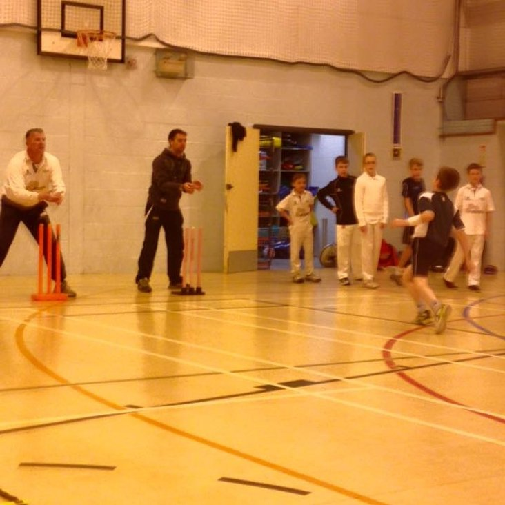 Winter Nets at Solihull College<