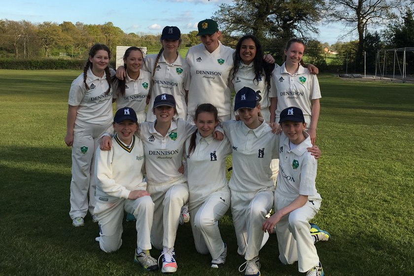 Thumping win for Women on league debut