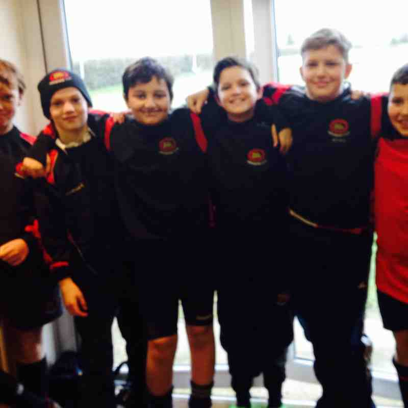 U11s attend half term Bath camp