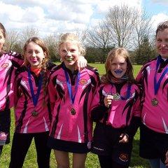Pinks U13 and U15 Sunday 24th April Warminster RFC