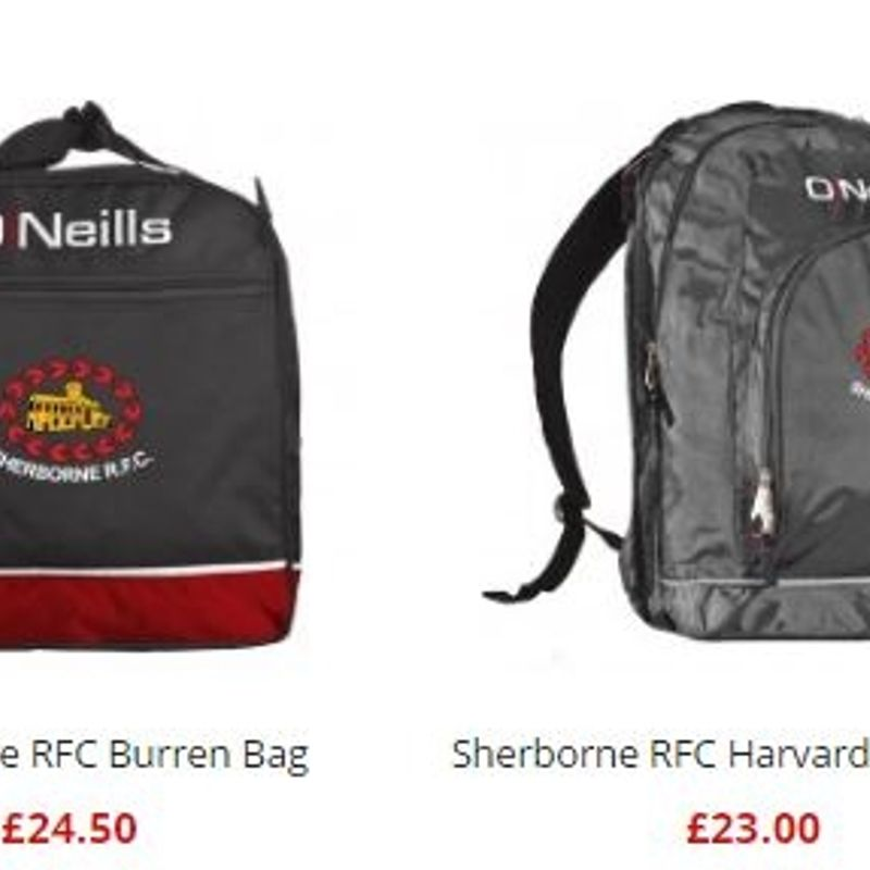 Visit the Club shop online - new merchandise added