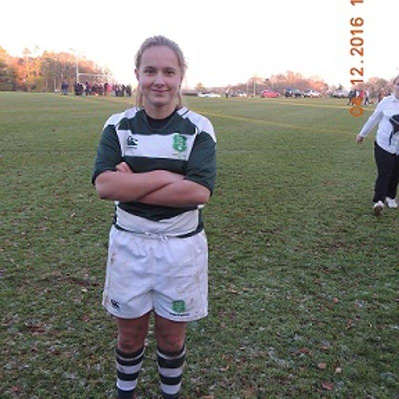 Sherborne Pink - Alice Lockwood selected for Dorset & Wilts U18 squad