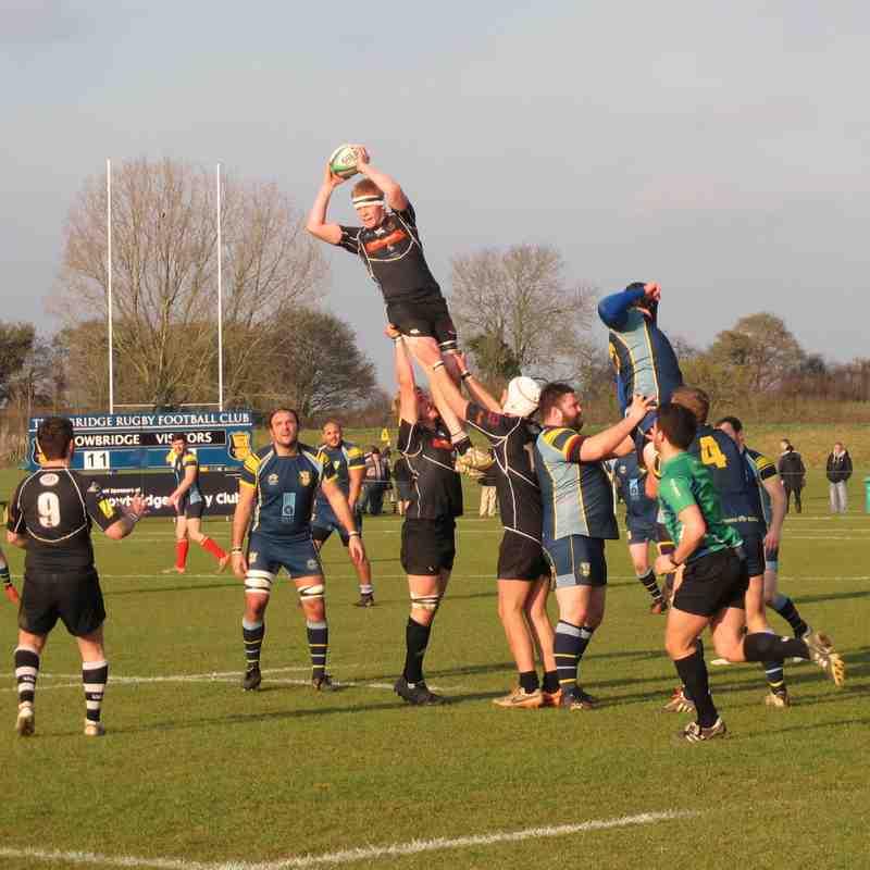 Trowbridge 1st XV V Sherborne Southern Counties Saturday 18th February