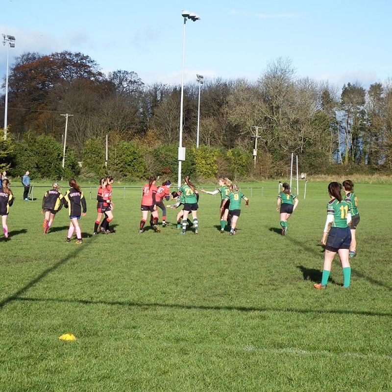 SRFC Pinks host a great day of Girls Rugby