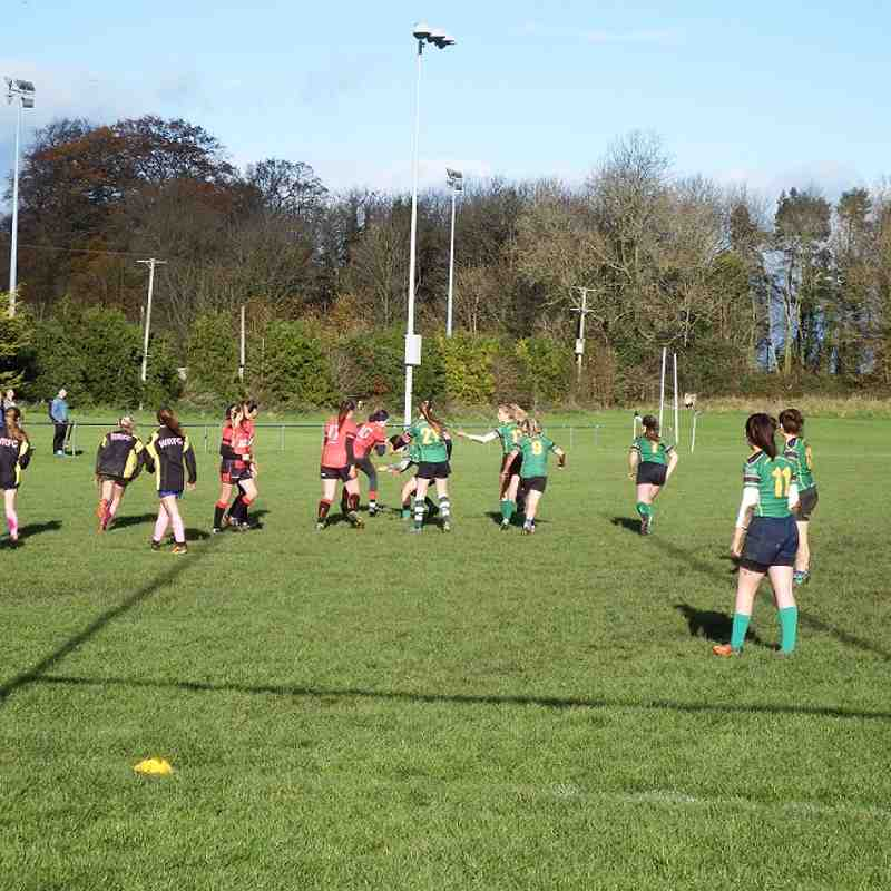 SRFC Pinks host a great day of rugby Sunday 12th November 2017