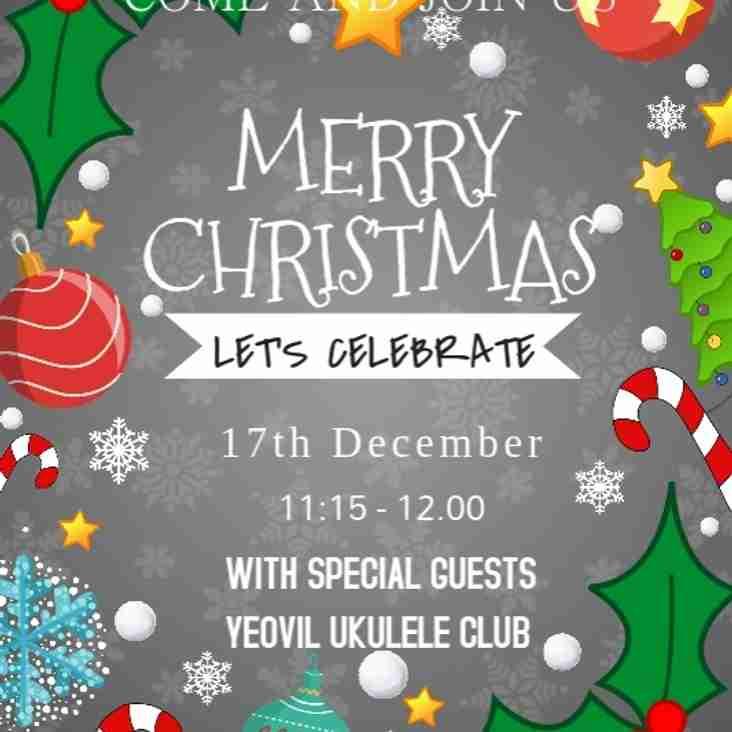 Christmas Celebration with Yeovil Ukelele Club