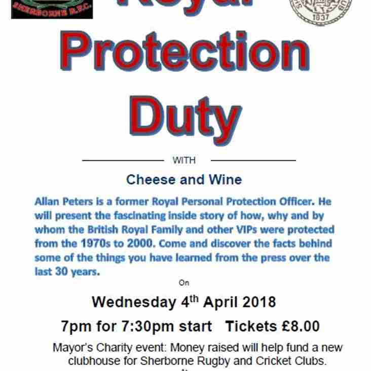 Mayor of Sherborne Charity Event - 4th April 2018
