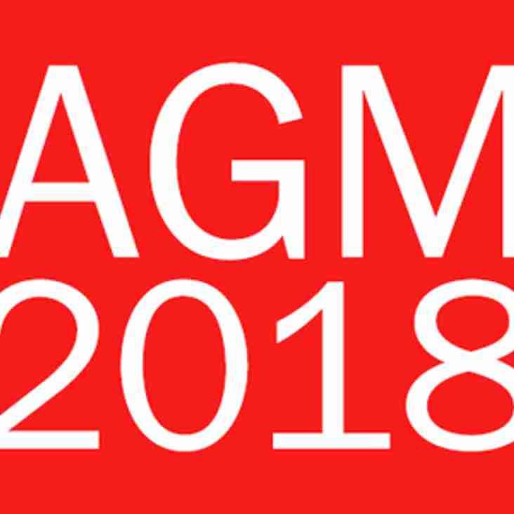 SRFC AGM 2018