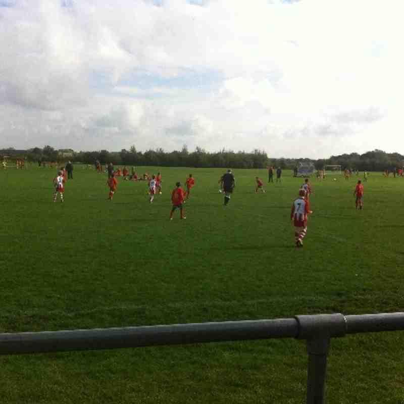 Many of the teams at Monahan Way 12.10.13