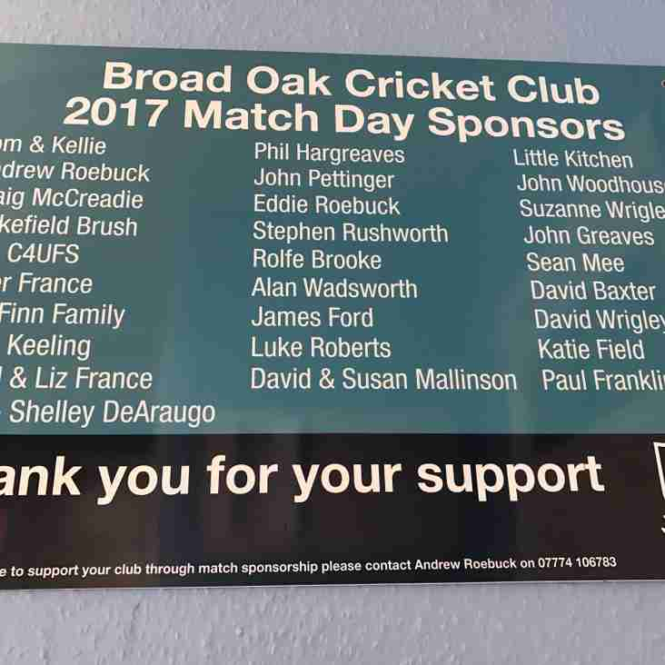 Match Sponsors
