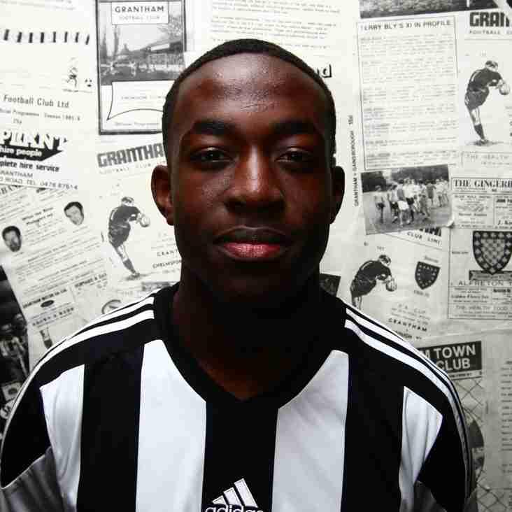 Jezza joins Gresley on-loan
