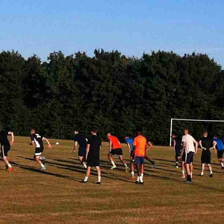 Culverhouse leads first training session