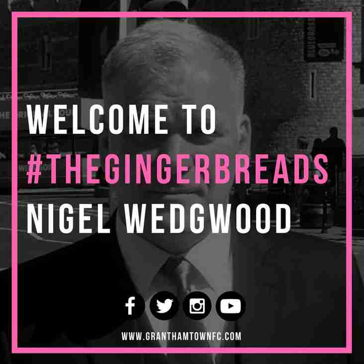 Gingerbreads announce new Chairman