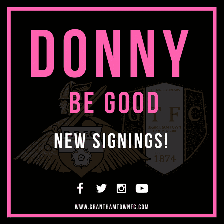 Donny duo join the Gingerbreads on-loan