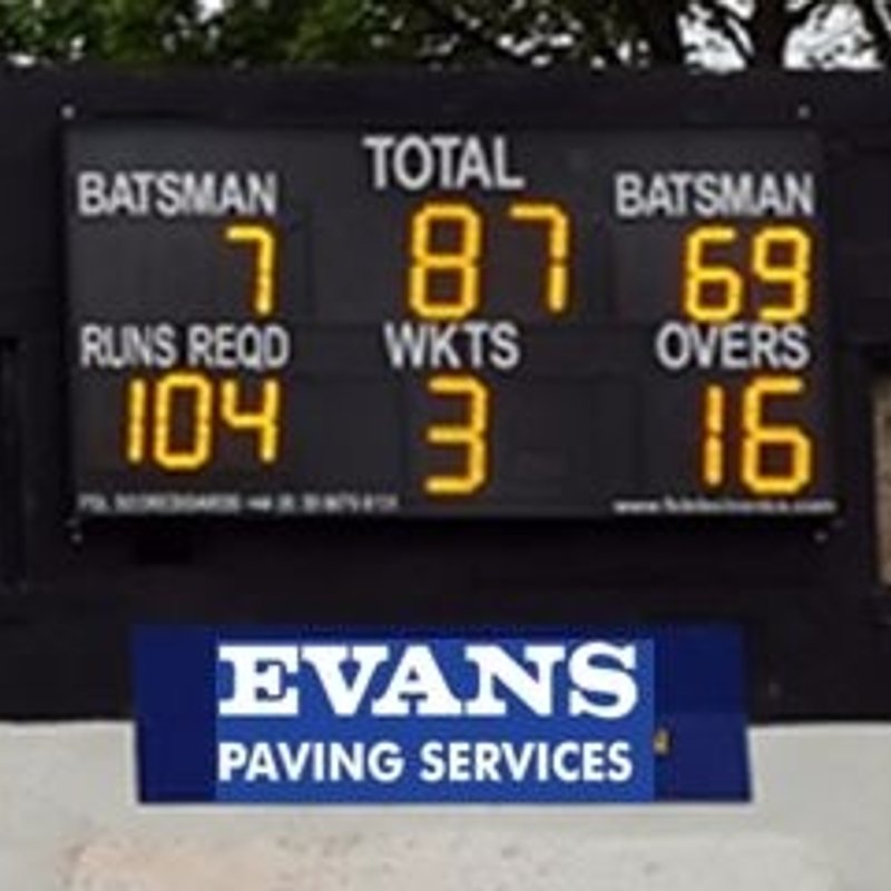 New Electronic Scoreboard ordered