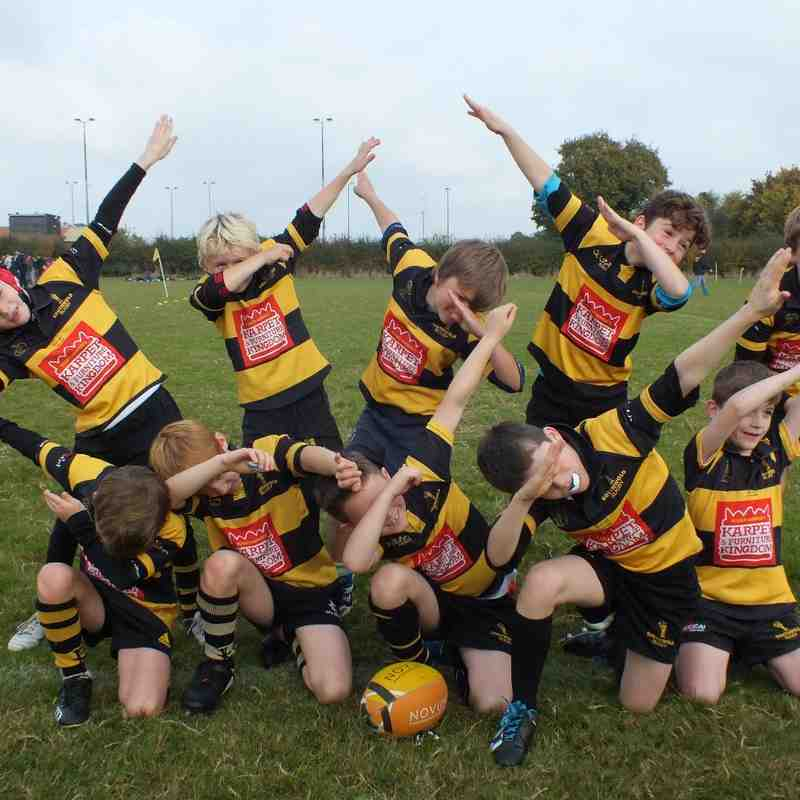 U9s away at Ipswich - Oct 16