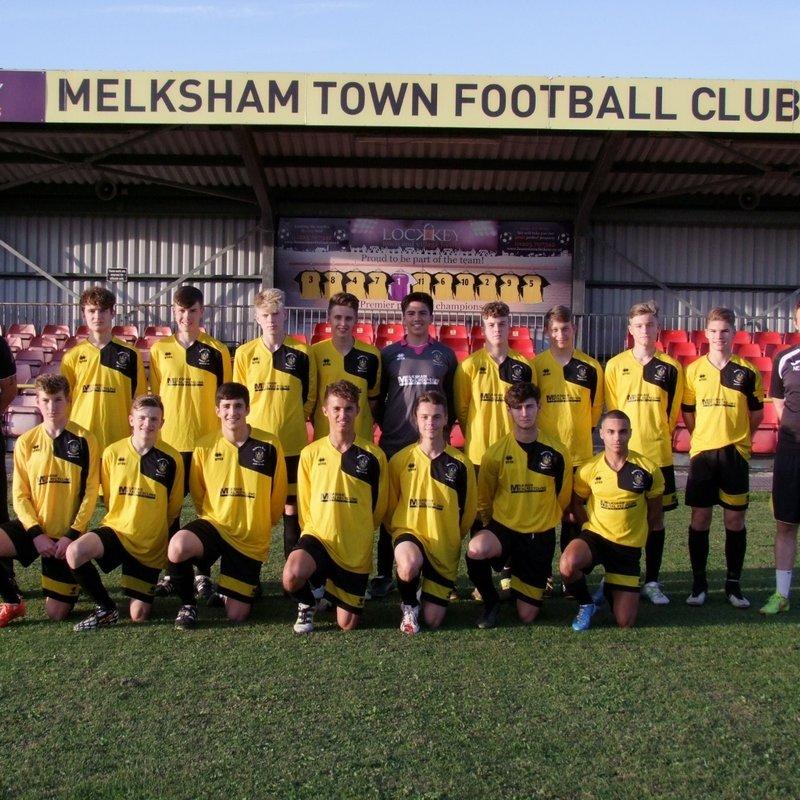 Under 18's beat Malmesbury Vic U18 6 - 0