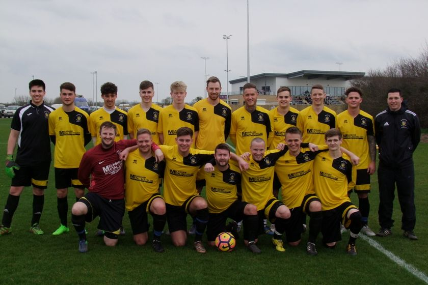 A Team  beat Calne Eagles 1 - 3