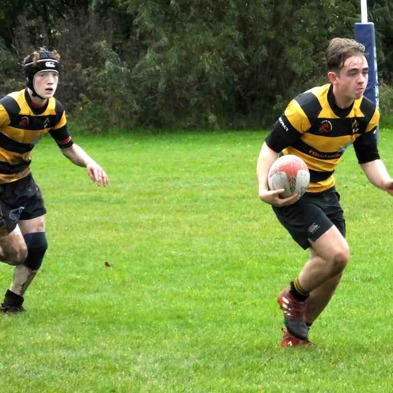 Leigh Dragons v Knutsford 08 Oct 2017