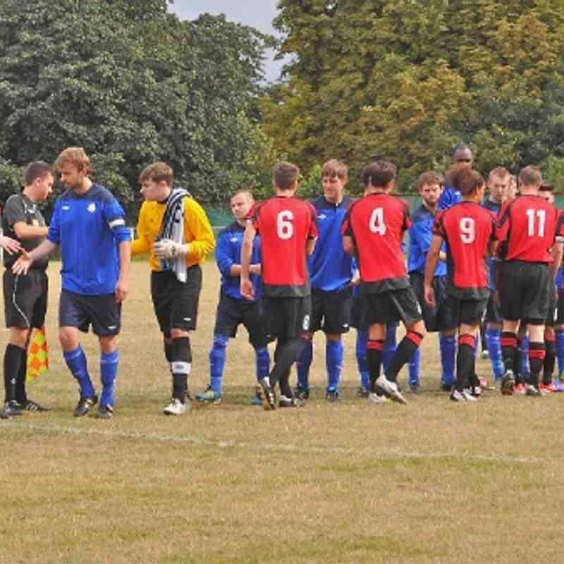 St Margaretsbury v Leighton - FA Cup - 25/08/12