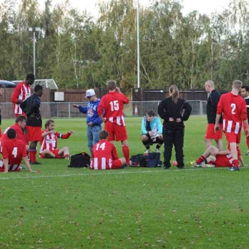 Leighton v Bedford Town (Red Insurance Cup) 22/09/12