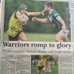Match Report - Warriors Romp to Championship Glory in League