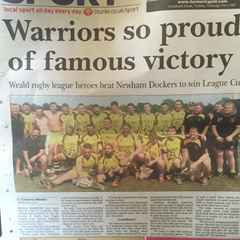 Warriors win first silverware... and its a big one