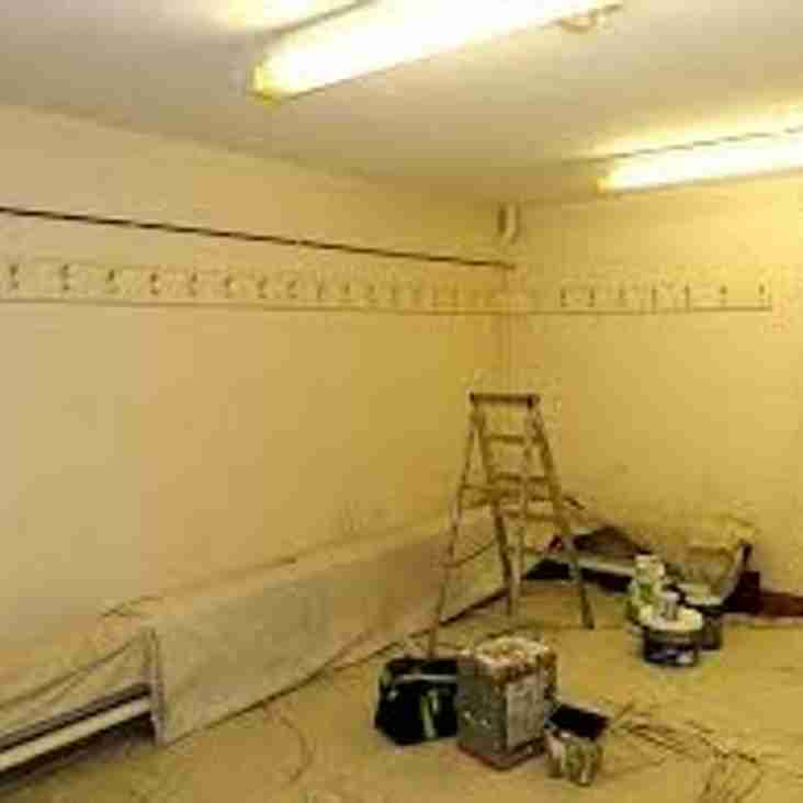 Help Needed 27th Feb to paint the changing rooms