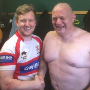 Wally gift's Stag's a try as A team finish season with a win