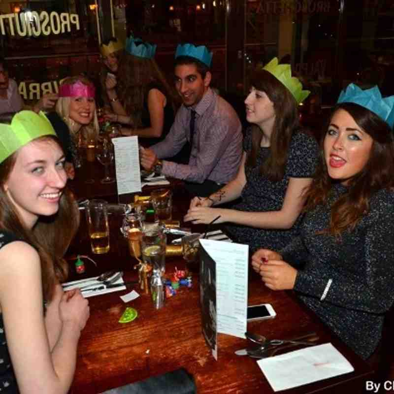 Near Row: Leo Comerford, Laura Soothill. Far Row: Ramzi Barbir, Katie Sharp, Bonnita Wheatley.