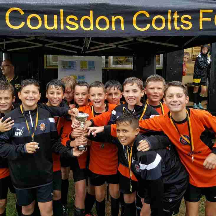 Panthers win Old Coulsdon tournament
