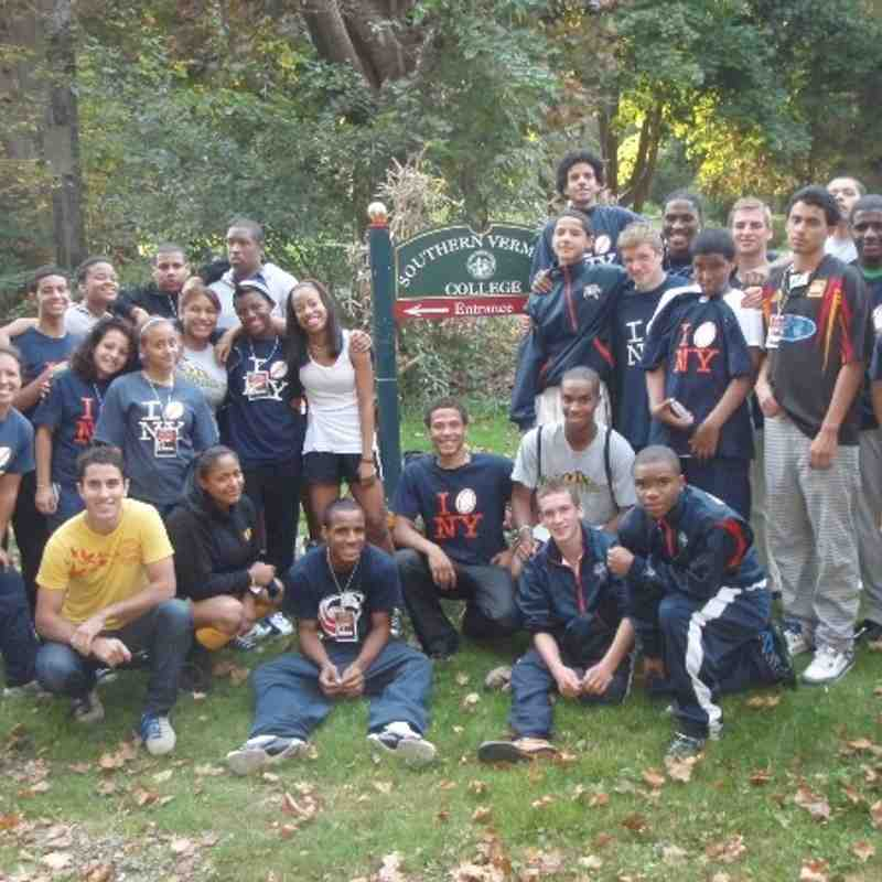 Hi Bear!: NYRC's U19s 2008 College Tour to Southern Vermont College in Bennington. Special thanks to Hoop for the photos!