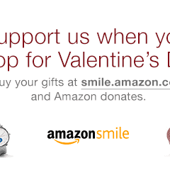 Great Valentine's Gifts + AmazonSmile Donations = Lots to Love
