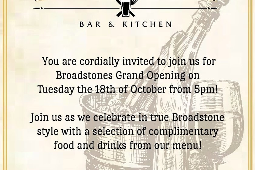 Grand Opening! NYRC Invited to Broadstone Bar & Kitchen's Debut