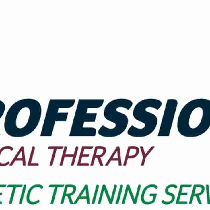 Visit Our Game Day Sponsor: Professional Physical Therapy