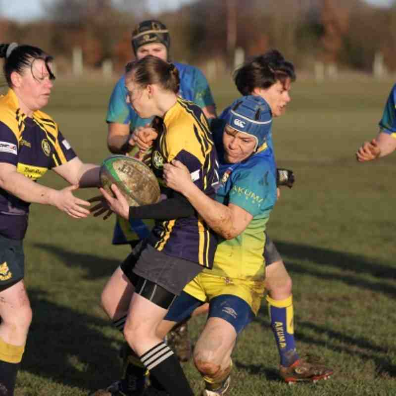 2012 Dec16 Coalville Ladies vs Old Leamingtonians Ladies   womens rugby OLs Old Leams