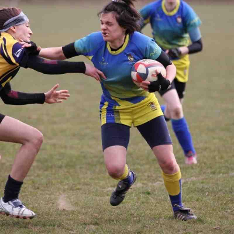 2013 Apr07 Old Leamingtonians Ladies vs Coalville
